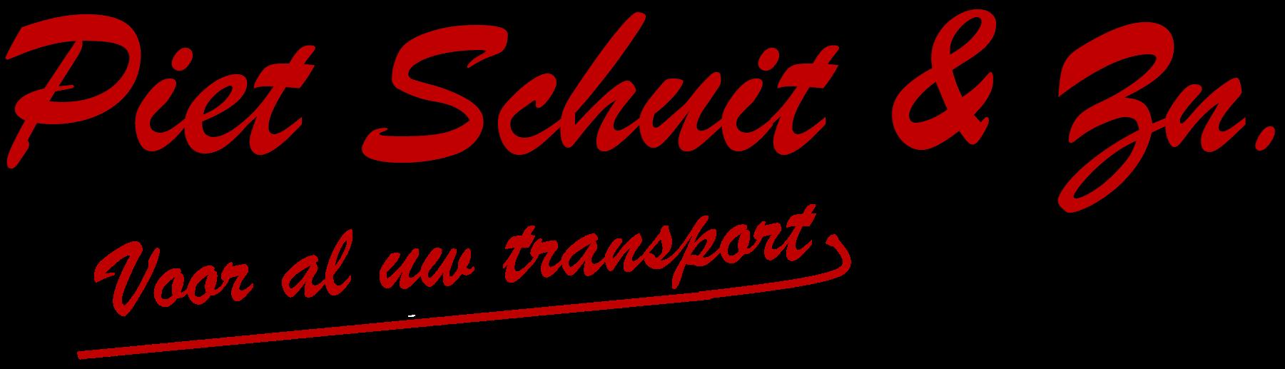 Piet Schuit transport